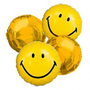 Happy Face Balloon Bouquet (4) buy at Florist