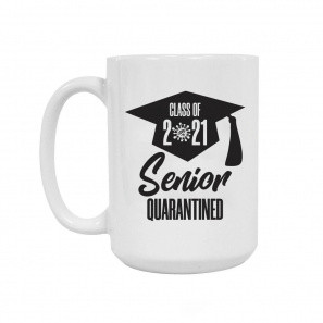 Quarantined Grad 2021 Mug