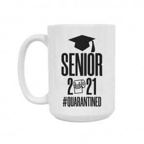 Quarantined Mug Grad 2021