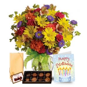 The Birthday Bundle buy at Florist